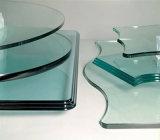 Bordure de commande numérique par ordinateur et machine de polonais en verre horizontales pour la glace automatique