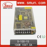 高品質100W 15V 6.7A Switch Power Supply S-100-15