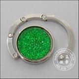 ダイヤモンドの象眼細工袋のハングのリング、金属のハンガー(GZHY-BHR-064)