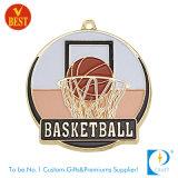 El oro de encargo del baloncesto concede la medalla para la escuela