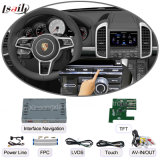 Automobile Multimedia Navigation Interface Box per Porsche Macan, Touch Navigation, Audio e Video