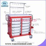 Trolley de medicação hospitalar ABS de alta qualidade