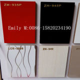 16mm Glossy UVMDF Sheet für Kitchen Cabinet Door