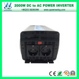 de Omschakelaars van de Macht 2000W DC48V AC220/240V met Goedgekeurd Ce RoHS (qw-M2000)
