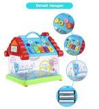 1432215-grappig het Muzikale Stuk speelgoed van het Kind van de Piano van het Huis