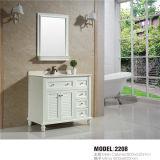 Type moderne Bathroom Étage-monté par PVC Vanity avec Mirror