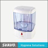 Распределитель мыла горячего распределителя жидкости мытья руки сбывания пластичный (V-410)