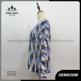 Голубой Striped шлямбур камуфлирования для женщин