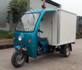 nueva motocicleta de la rueda de la cabina 200cc del triciclo cerrado del cargo