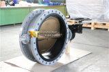 Dn750 C95400 디스크를 가진 두 배 플랜지가 붙은 나비 벨브 (CBF02-TA01)