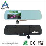 5 Zoll-Screen-hintere Ansicht-Spiegel-Auto DVR mit GPS-Navigation, Bluetooth, FM
