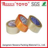 Bande adhésive acrylique d'emballage de gomme de film de BOPP pour l'emballage de palette