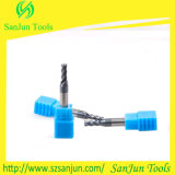 Fresa solida dell'estremità del quadrato del carburo del tungsteno con l'alta qualità