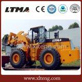 Ltma carregador Diesel do Forklift da pedreira de 22 toneladas com alimentador de bloco