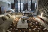 O sofá de linho da sala de visitas da tela ajustou-se com mesa de centro de mármore (LST-001)