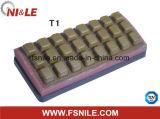 Шлифовальные Блок глазированное Смола-Бонд Fickert Абразивный (T170 площади зубов)