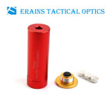 Erains Tac Optics Gold Full Brass Cal:. 9 Cartridge Red Laser Pointer Bore Sighter (ES-LCBS-11)