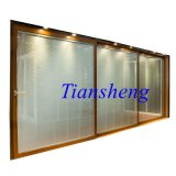 2.0mm Thickness를 가진 3 Tracks Aluminum Alloy Sliding Door
