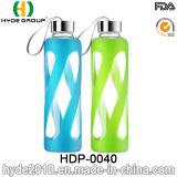 カスタマイズされたBPAの自由に高いホウケイ酸塩ガラスの水差し、ガラス茶またはジュースの水差し(HDP-0040)