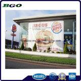 Impressão de Digitas da tela de engranzamento da bandeira do engranzamento do PVC (500X1000 18X12 370g)