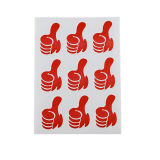 Hot durevole Sale Sheet o Roll Printed Label Sticker
