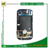 LCD al por mayor para la galaxia S3 I9300 I9305 I535 L710 Sgh-I747 T999 LCD de Samsung