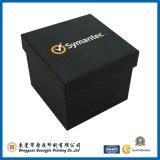 Caja de empaquetado del color del regalo negro del papel (GJ-Box890)