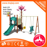 Kinder Outdoor Garten Swing Metal Swing Sets mit Slides