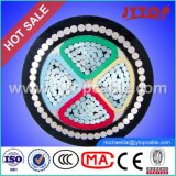 1kv Nayry Cable de aluminio, cable blindado de PVC Cable de energía eléctrica