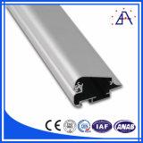 6005 oval de aluminio de extrusión