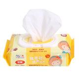 Wipes molhados 80PCS do bebê do cuidado de pele de Vera do aloés