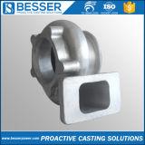 炭素鋼1.0308/1.0037/1.0060/20/25/30/35/40/45/50/Q235/Q345の炭素鋼の失われたワックスの無水ケイ酸SOLの精密投資鋳造