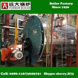 Wns 0,5-6 toneladas de caldeira de vapor a gás / aquecedor de gás e óleo