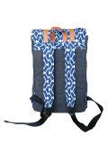 화포 형식 패턴 두 배 어깨 책가방, 여행 책가방