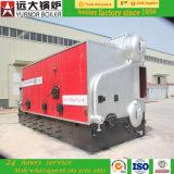 double chaudière à vapeur allumée polycarburant allumée par Pellet&Biomass complètement automatique de Coal&Wood de grille de chaîne du tambour 1-20ton