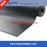 Обширная Ribbed резиновый циновка настила/коммерчески обширная Ribbed резиновый циновка
