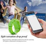 Gelbert GPS PAS Aufruf-Kind-intelligente Uhr für androiden IOS