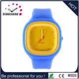 Montre neuve de Customed de montre de gelée de silicones du type 2016 pour la promotion (DC-680)