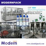 3 em 1 Bottled Water Washing, em Filling e em Caping Water Filling Machine