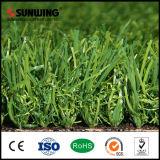 40mm PPEのアクアリウムの装飾のための緑の人工的な草の芝生