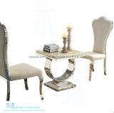 ホテルのレストラン(HW-1227C)のための現代ファブリックステンレス鋼の椅子
