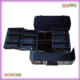 Heißes Leopard-Drucken PVC-harter Schönheits-Serien-Kasten (SACMC046)