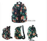 Backpack картины цветка полиэфира 600d конструкция