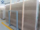 Grijze Opgepoetste Marmeren Plak/Tegel voor Ader van /Wall van de Vloer de Grijze Houten