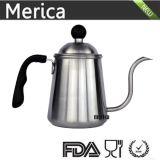 l'acciaio inossidabile 900ml versa sopra la caldaia del caffè