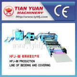 Stratificazione della trapunta che riguarda la linea di produzione non tessuta del macchinario (HFJ-88)