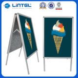 두 배 Sided Frame Outdoor Poster Stand (LT-10)