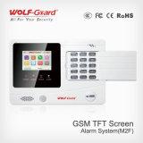 Sistema de alarme com indicador do LCD e proteção de incêndio da voz para a HOME, a loja, a escola, a fábrica, o Hopital etc.