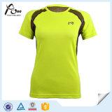 女性の試しのTシャツの試しの衣服のスポーツ・ウェアデザイン
