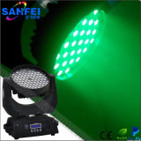 Disco 108X3w RGBW LED Cabeza móvil Wash Luces